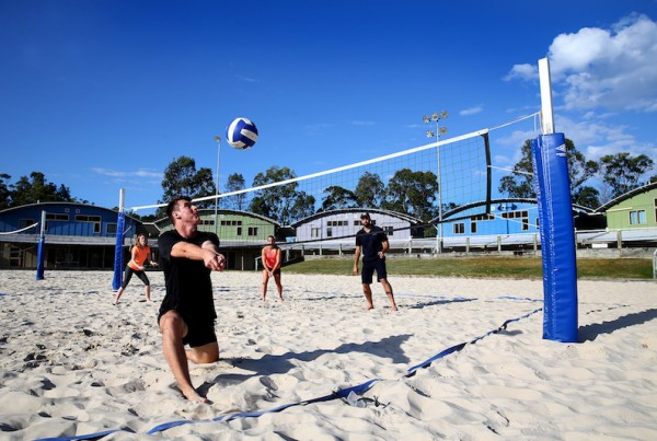 Beach Volleyball Courts