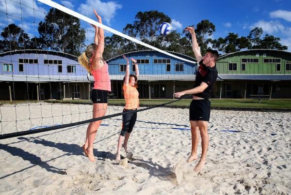 Beach Volleyball Training