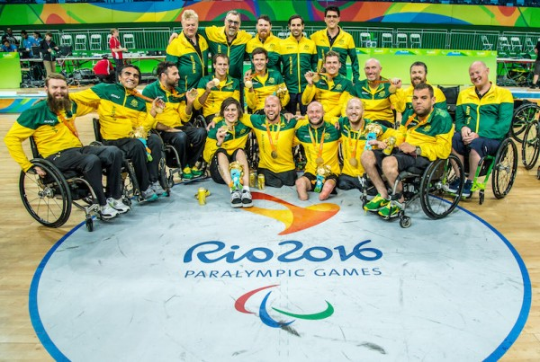 Australia wins the Gold 2016 Rio Paralympic