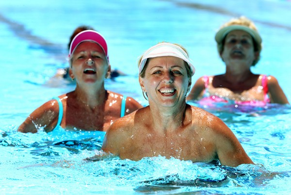 Deep Water Exercises - Gold Coast