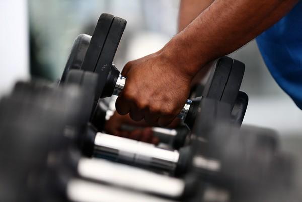 Gold Coast Gym Dumbells