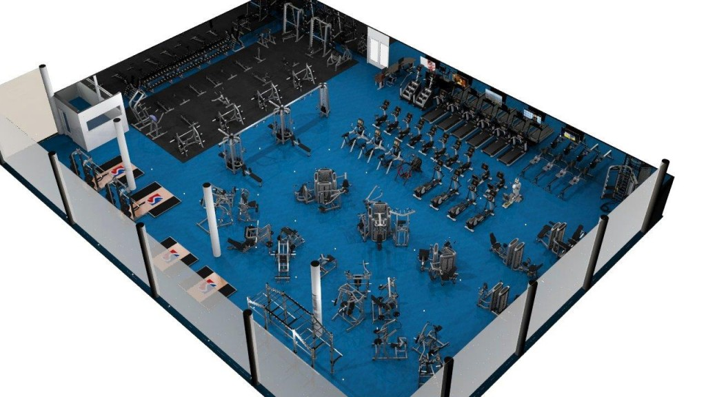 New Gym | Angled View | Sports Super Centre