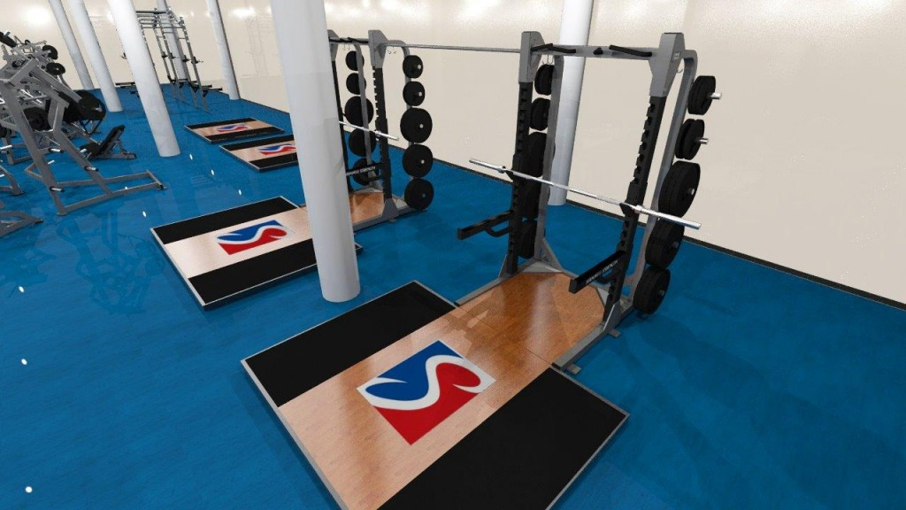 Weight Racks | Sports Super Centre | New Gym