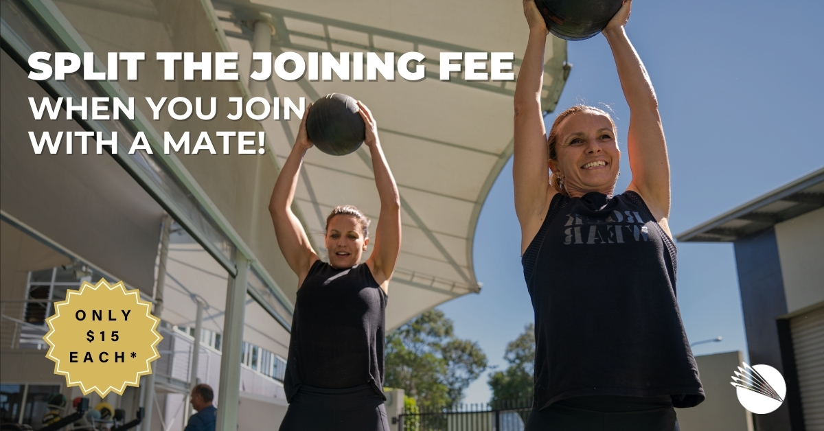 share the joining fee with a mate